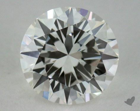 0.90 Carat H-VS1 Very Good Cut Round Diamond