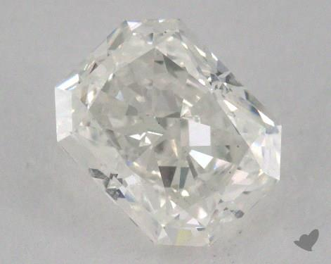 1.72 Carat H-SI2 Radiant Cut  Diamond