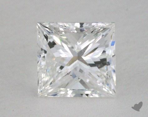 1.51 Carat F-SI2 Very Good Cut Princess Diamond