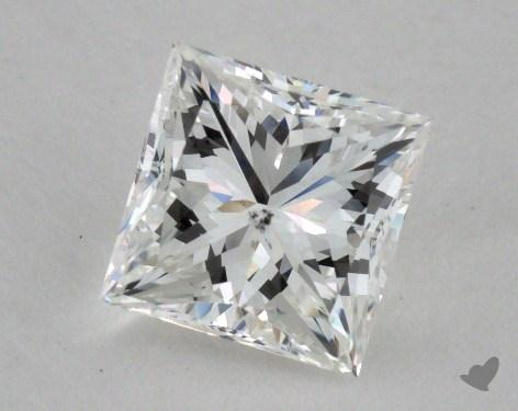 1.28 Carat F-SI1 Princess Cut  Diamond