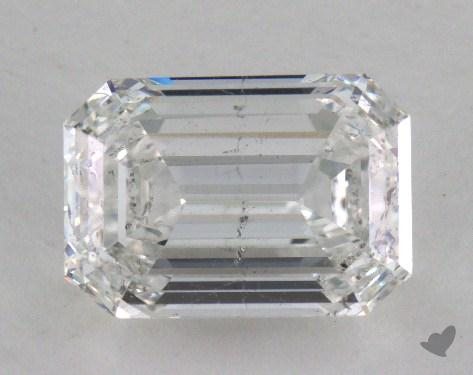 2.07 Carat F-SI2 Emerald Cut Diamond