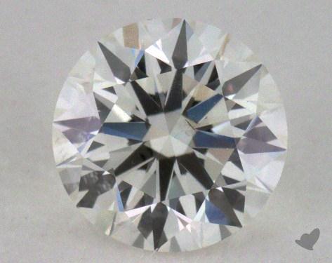 0.72 Carat I-SI1 Excellent Cut Round Diamond