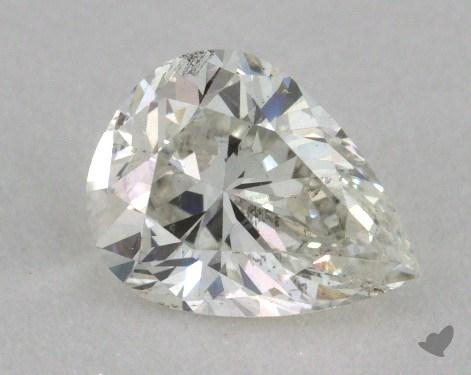 0.86 Carat I-SI1 Pear Cut Diamond