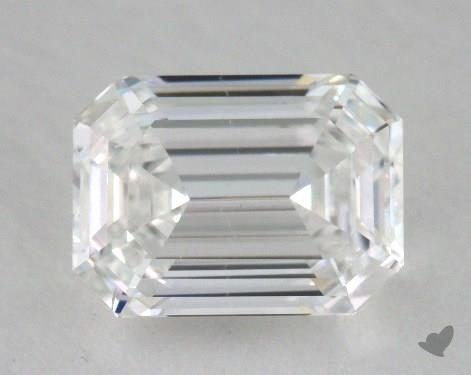 1.07 Carat F-SI1 Emerald Cut  Diamond