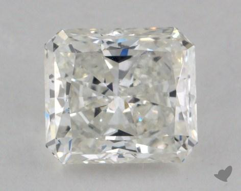 1.29 Carat H-VVS1 Radiant Cut Diamond