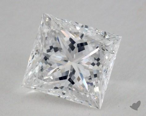 1.53 Carat E-SI1 Very Good Cut Princess Diamond