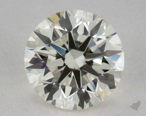 0.77 Carat K-VS2 Round Diamond