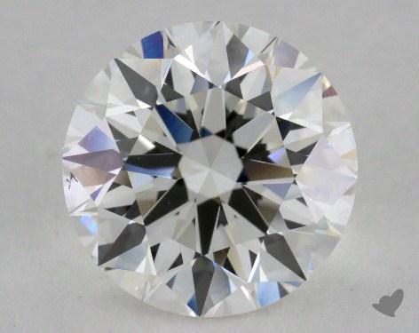 3.01 Carat H-VS2 Excellent Cut Round Diamond