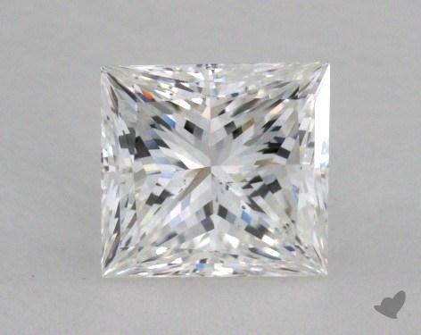 1.51 Carat F-SI1 Very Good Cut Princess Diamond