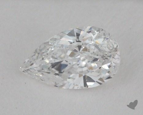 0.60 Carat D-SI2 Pear Shape Diamond