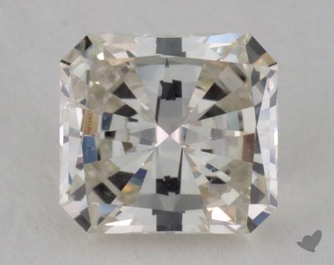 0.71 Carat K-I1 Radiant Cut Diamond