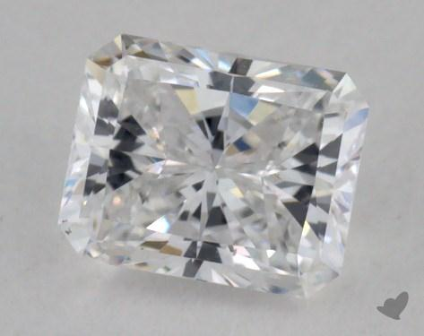 0.44 Carat D-VS2 Radiant Cut  Diamond