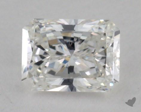 0.45 Carat F-VVS1 Radiant Cut Diamond