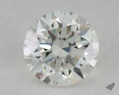 0.42 Carat J-VS1 Very Good Cut Round Diamond