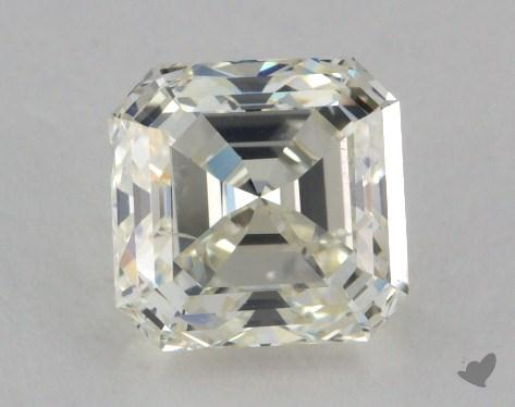 1.73 Carat J-SI1 Square Emerald Cut Diamond