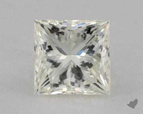 1.35 Carat K-VVS2 Very Good Cut Princess Diamond