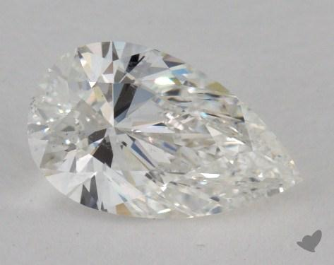 1.25 Carat G-SI1 Pear Shaped  Diamond