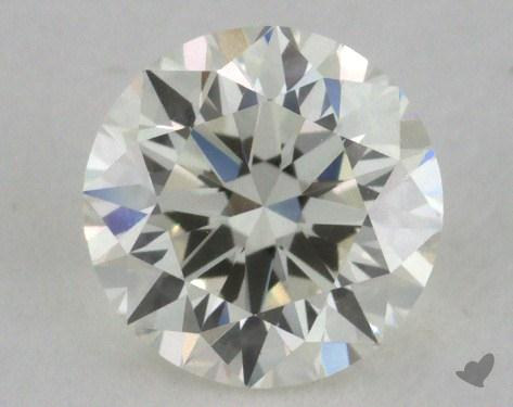0.72 Carat J-IF Very Good Cut Round Diamond