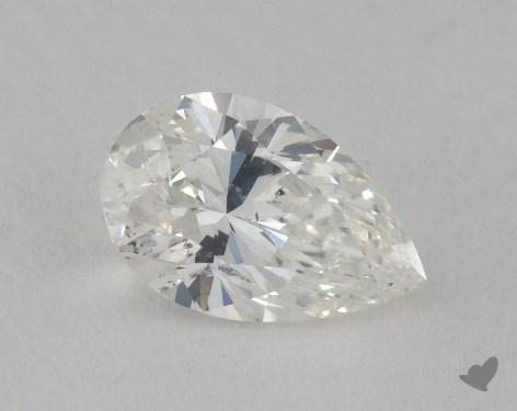 1.01 Carat G-SI1 Pear Cut Diamond