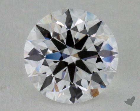 0.88 Carat D-VS1 True Hearts<sup>TM</sup> Ideal Diamond