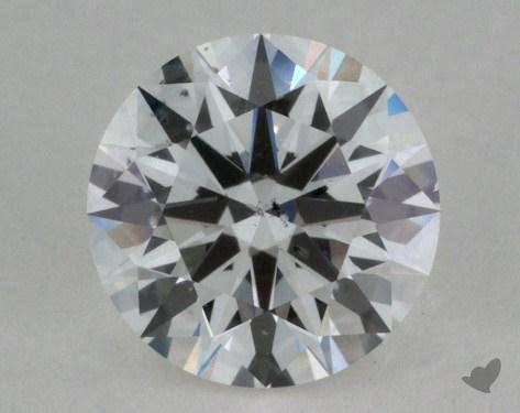 0.66 Carat E-SI2 Ideal Cut Round Diamond