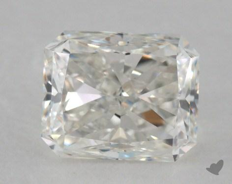 1.00 Carat F-VS1 Radiant Cut Diamond