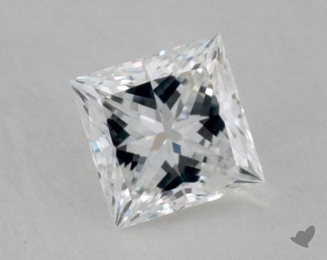 0.30 Carat F-VS2 Princess Cut Diamond