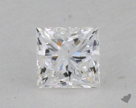 0.36 Carat E-VS1 Ideal Cut Princess Diamond