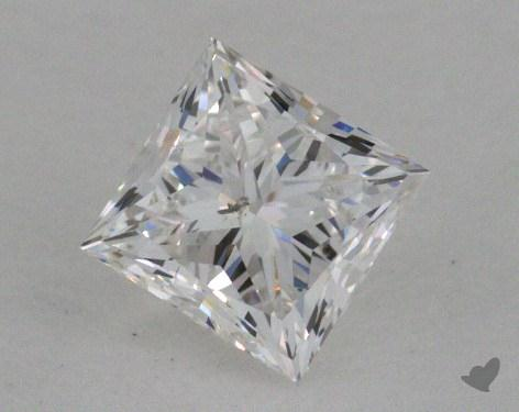 0.52 Carat F-I1 Princess Cut Diamond