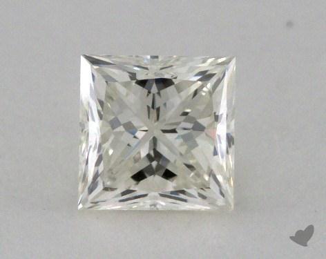 0.57 Carat K-VS2 Very Good Cut Princess Diamond