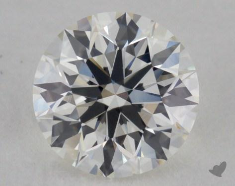 0.91 Carat I-VVS1 Excellent Cut Round Diamond