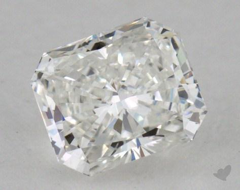 0.70 Carat F-SI1 Radiant Cut  Diamond