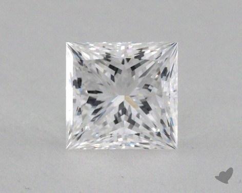 1.18 Carat E-VS1 Ideal Cut Princess Diamond