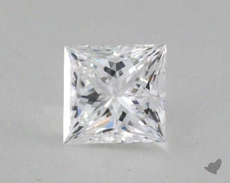 1.05 Carat D-IF Princess Cut Diamond