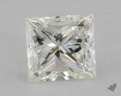 1.06 Carat H-VVS1 Ideal Cut Princess Diamond
