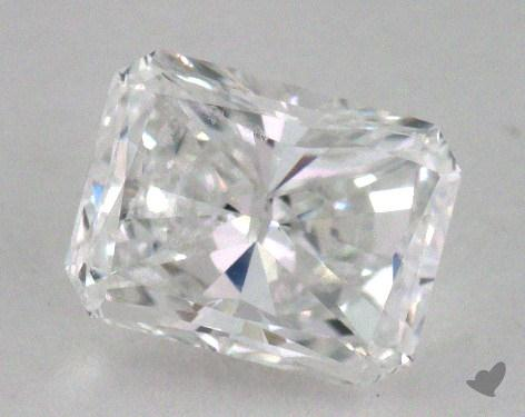 0.82 Carat D-VS2 Radiant Cut Diamond