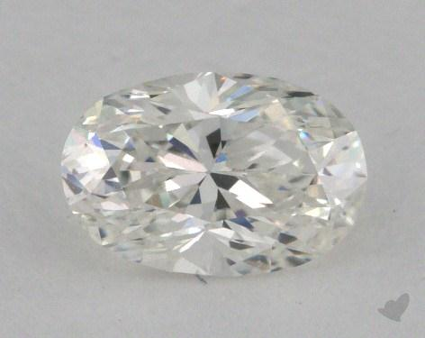 0.70 Carat E-VVS1 Oval Cut Diamond