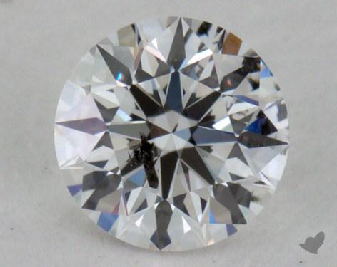 0.41 Carat E-I1 Excellent Cut Round Diamond