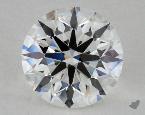 1.36 Carat G-VVS1 Ideal Cut Round Diamond