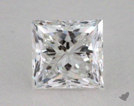 0.51 Carat E-I1 Very Good Cut Princess Diamond