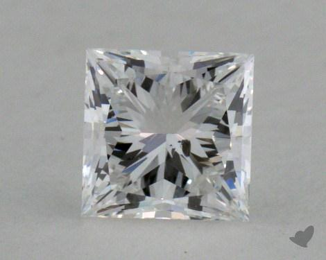 0.53 Carat E-I1 Princess Cut  Diamond