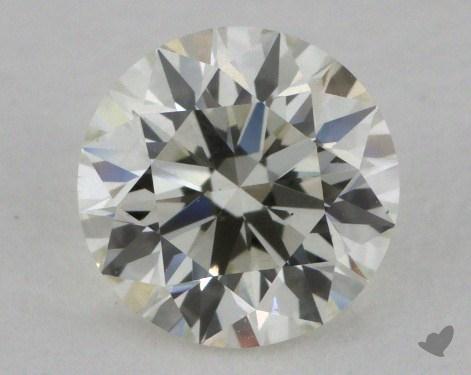 0.80 Carat J-SI1 Excellent Cut Round Diamond