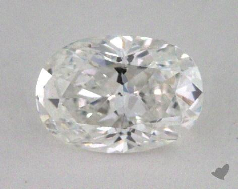 1.00 Carat F-SI2 Oval Cut Diamond
