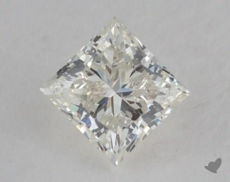1.20 Carat J-SI1 Good Cut Princess Diamond