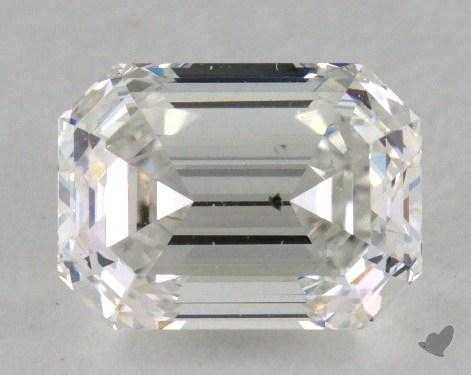 1.32 Carat H-SI1 Emerald Cut Diamond