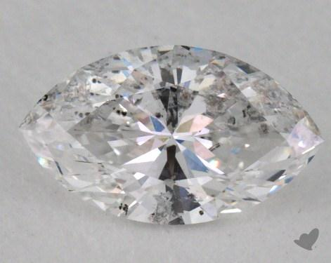 0.45 Carat D-I1 Marquise Cut Diamond