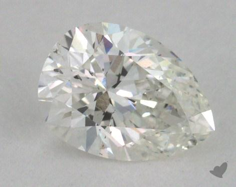 0.46 Carat G-VS2 Pear Shape Diamond