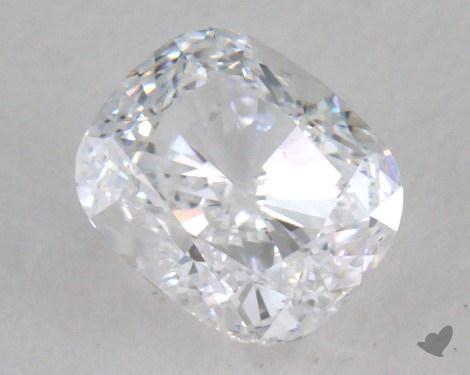 0.71 Carat D-VS1 Cushion Cut Diamond