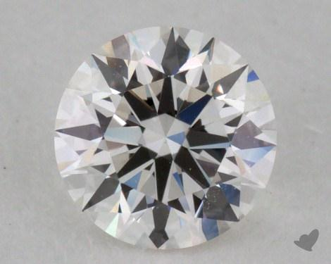 0.34 Carat F-VS1 Excellent Cut Round Diamond