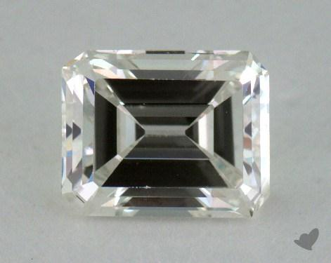 0.84 Carat H-VS1 Emerald Cut Diamond